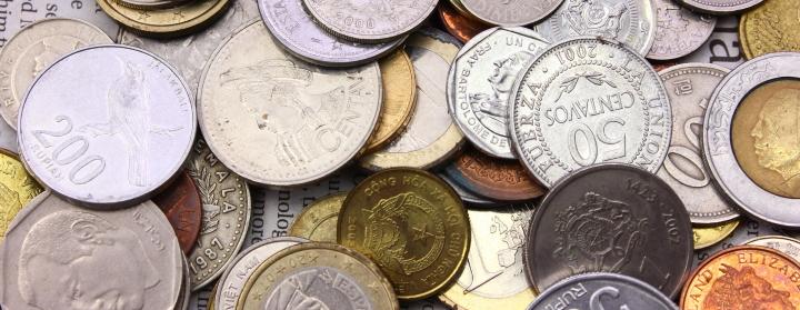 外貨の硬貨(コイン)は両替できる?余った外貨の使い道